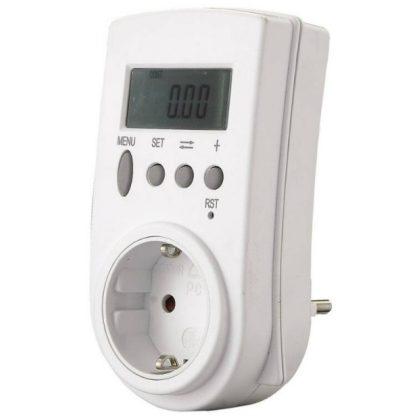 GAO 0785H Digitális fogyasztásmérő, 230V, ~50Hz, 3600W, IP20