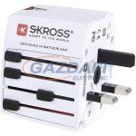 """SKROSS Utazóadapter """"World Adapter MUV USB"""""""