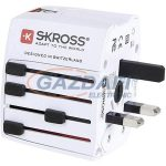 "SKROSS Utazóadapter ""World Adapter MUV USB"""