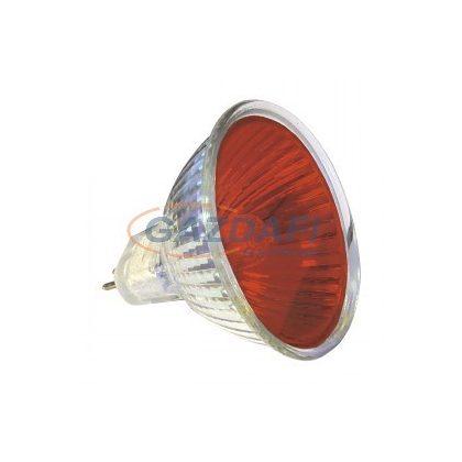 KANLUX halogén izzó, 50W, piros, GU5,3, MR16, 12V