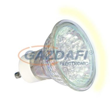 KANLUX LED fényforrás, DIP, 1,3W, sárga, GU10, 230V