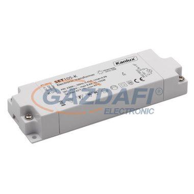 KANLUX elektronikus transzformátor, fehér, 105W, IP20