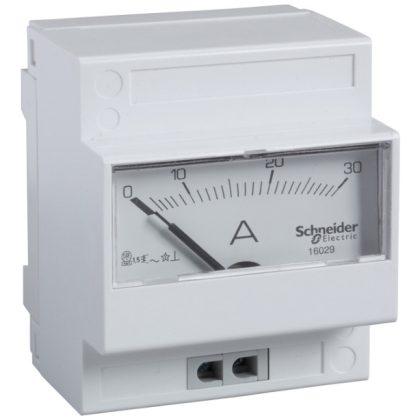SCHNEIDER 16029 PowerLogic AMP ampermérő 30A közvetlen csatlakozású analóg mérő