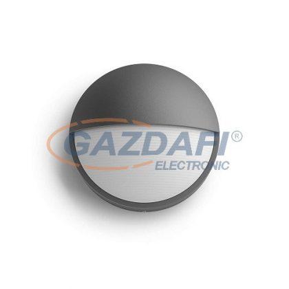 PHILIPS Capricorn 1645593P3 LED fali lámpa, 6W 230V 4000K 600Lm antracit