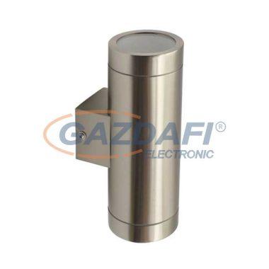 """KANLUX """"Magra"""" kültéri fali lámpatest, GU10, 2x35W, acél, IP44"""