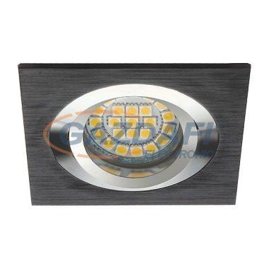 """KANLUX """"Seidy"""" süllyesztett lámpatest, MR16, 12V, 1x50W, fekete, billenthető"""