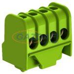 OBO 2016250 KL-DBS4x16GN Védővezető Sorkapocs csavaros 4x16mm2 zöld poliamid