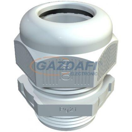 OBO 2022648 V-TEC PG13.5 SGR Tömszelence PG13,5 ezüstszürke IP68 poliamid