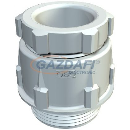 OBO 2023547 106 Z PG21 PC Tömszelence húzásmentesítővel PG21 világosszürke IP65 polikarbonát