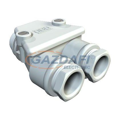 OBO 2024160 113 PG16 LGR Iker-Tömszelence PG16 világosszürke IP54 Duroplaszt, aminoplaszt