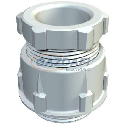OBO 2038048 106 K PG16 PS Tömszelence rövid csatlakozómenettel PG16 világosszürke polisztirol