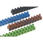 OBO 2055023 70 VDE Dolü-Leágazókapocs színek szerint válogatva 2,5mm2 válogatott poliamid