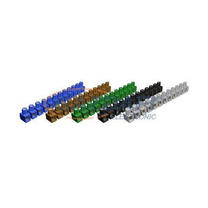 OBO 2055201 70 S Dolü-Leágazókapocs egyoldalas zárt 2,5mm2 válogatott poliamid