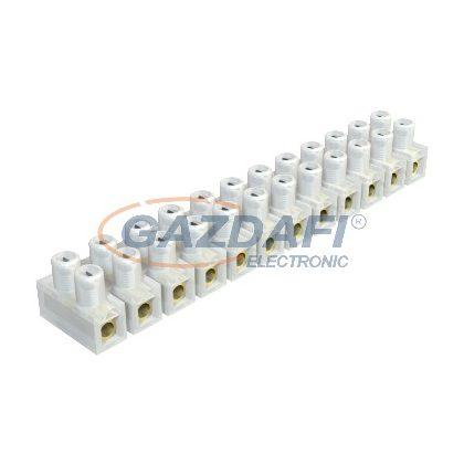 OBO 2055929 72 VDE Többtagú (Csillár) Sorkapocs 4,0mm2 átlátszó poliamid