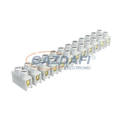 OBO 2056178 74 D Többtagú (Csillár) Sorkapocs huzalvédő-kengyellel 4,0mm2 átlátszó poliamid
