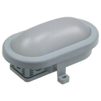 GAO 2101010430 Hajólámpa, ovális, LED 5.5W 420lm, világos szürke