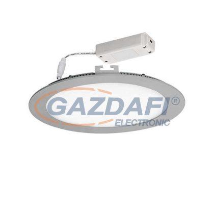 KANLUX ROUNDA LED panel süllyesztett, kerek 13W-NW-SR ezüst A++ - A
