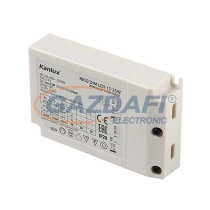 KANLUX RICO DIM LED 17-25W működtető