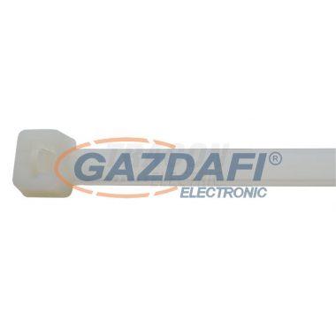 TRACON 260PR Normál kábelkötegelő, natúr 365×7.8mm, D=8-100mm, PA6.6