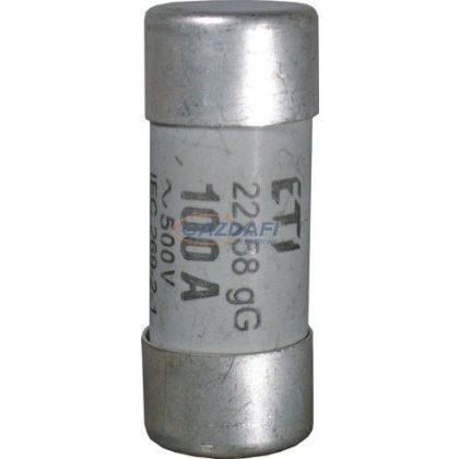 ETI C rendszerű olvadóbetét, 100A, 500V, 22x58mm