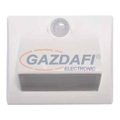 MÜLLER LICHT 27700024 LED lépcsővilágító elemes lámpa mozgásérzékelővel, 0.25W, 10Lm, IP54