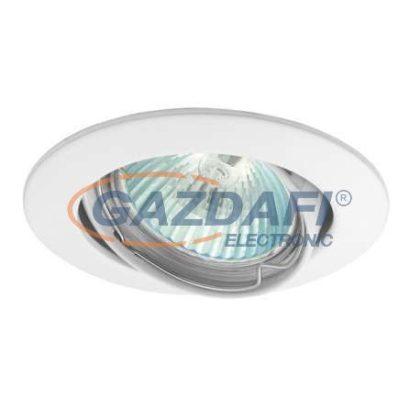 """KANLUX """"Vidi"""" süllyesztett spotlámpa, Gx5,3, MR16, 12V, 50W, fehér, billenthető, IP20, alumínium"""