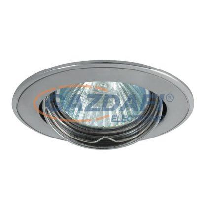 """KANLUX """"Bask"""" süllyesztett spot lámpatest, Gx5,3, MR16, 12V, 50W, alumínium/nikkel, billenthető, IP20, alumínium"""