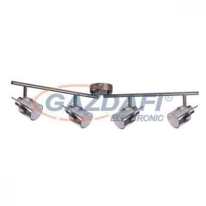 KANLUX 29103 Fali/mennyezeti lámpa, 35W, G9, IP20, ezüst