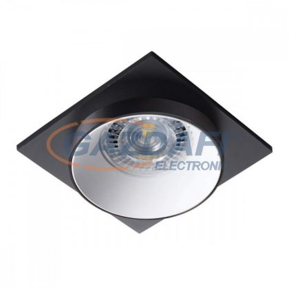 KANLUX 29131 SIMEN DSL B/W/B, Pontlámpa , Gx5,3 / GU10 , IP20 , 35W , fekete/fehér
