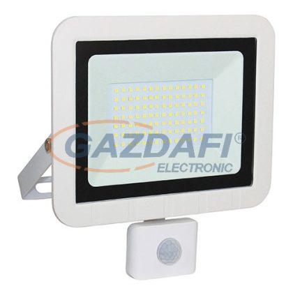 COMMEL 307-158 LED fényvető mozgásérzékelővel, 50W 6500K 3500Lm IP44