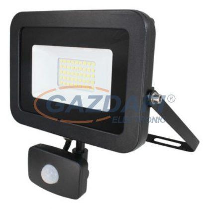 COMMEL 307-235 LED fényvető mozgásérzékelővel 30W 2400Lm 6500K IP44