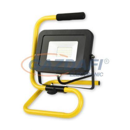 COMMEL 308-235 LED fényvető állvánnyal, 30W, 2400Lm, 6500K, IP44