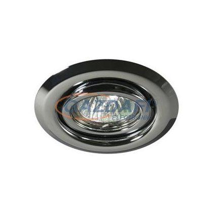 KANLUX spot lámpatest, Gx4, MR11, 20W, króm, billenthető, IP20, acéllemez ház