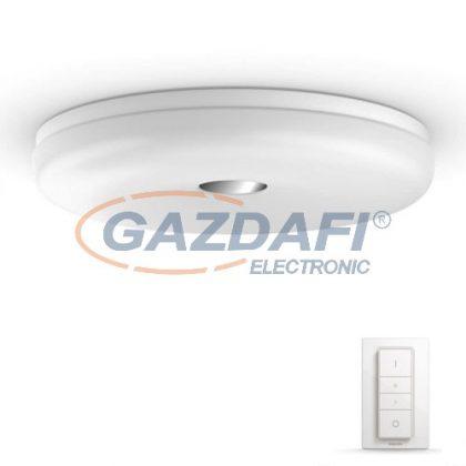 PHILIPS Struana HUE 33064/31/P7 intelligens vezérelhető mennyezeti LED fürdőszobai lámpatest, 32W 2400Lm 2200-6500K, fehér, IP44