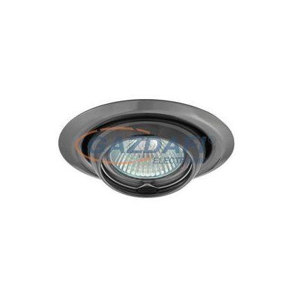KANLUX süllyesztett spot lámpatest, Gx5,3, MR16, 12V, 50W, billenthető, IP20, acéllemez ház