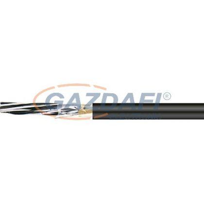RE-2Y(St)Yv-fl 8x2x1,3mm2 Árnyékolt műszerkábel RM 300/500V fekete