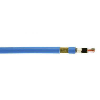 RE-2Y(St)YSWAY-fl 4x2x1,3mm2 Páncélozott, árnyékolt műszerkábel RM 300/500V kék