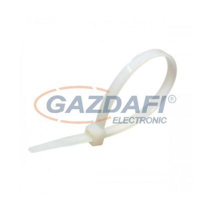COMMEL 365-123 kábelkötegelő, 4,7x380mm, fehér, 100 db