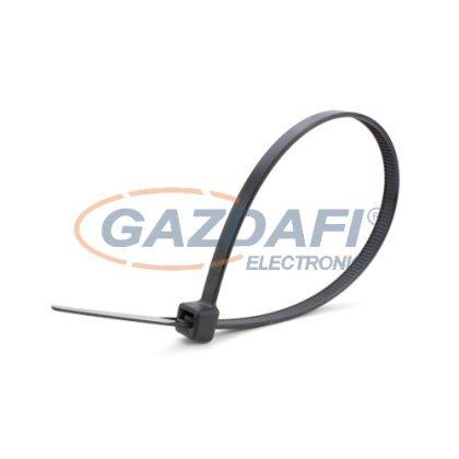 COMMEL 365-104 kábelkötegelő, 2.5x150mm, fekete, 100 db