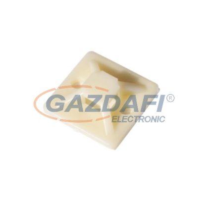 COMMEL 365-331 kábelkötegelő talp 20x20 mm, 25 db