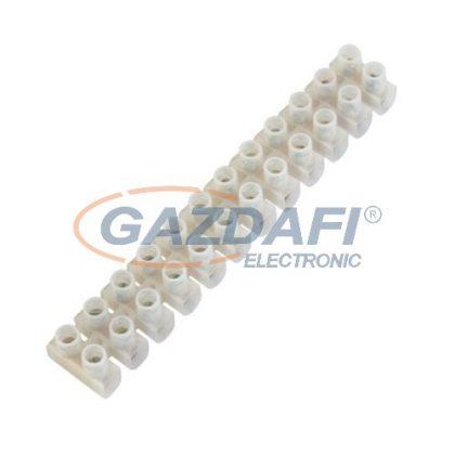 COMMEL 365-401 sorkapocs, 2.5mm, fehér