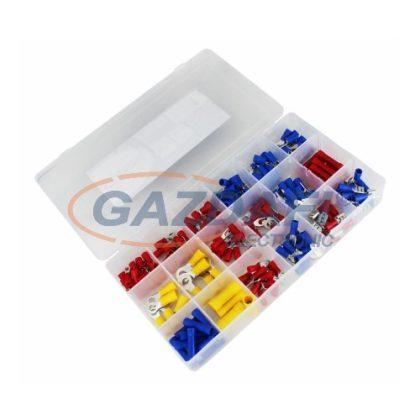 COMMEL 365-702 szigetelt saru készlet 175db-os műanyag szortiment dobozban