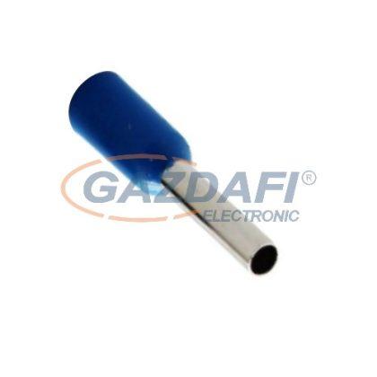 COMMEL 365-804 szigetelt érvéghüvely, kék, 2,50mm2