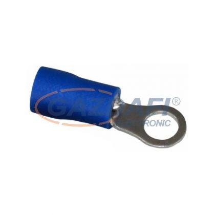 COMMEL 365-883 szigetelt ónozott réz saru készlet 1,5-2,5mm2 kék, átmérő: 4,3mm