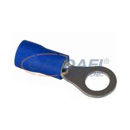 COMMEL 365-884 szigetelt ónozott réz saru készlet 1,5-2,5mm2 kék, átmérő: 5,3mm