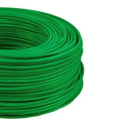 MCU 4mm2 rézvezeték tömör zöld H07V-U