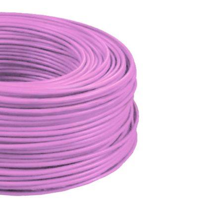 MCU 1,5mm2 rézvezeték tömör rózsaszín H07V-U