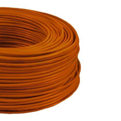 MCU 1,5mm2 rézvezeték tömör narancs H07V-U