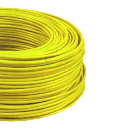 MCU 2,5mm2 rézvezeték tömör sárga H07V-U