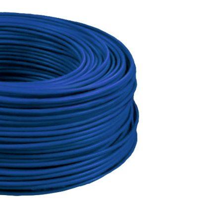 MCU 4mm2 rézvezeték tömör kék H07V-U